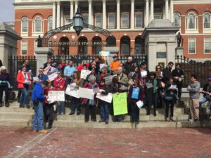 Protesters rally to make Massachusetts a sanctuary state