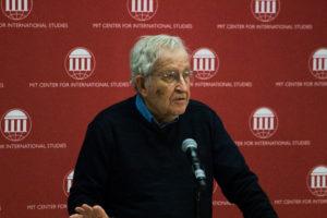 Activist, writer Noam Chomsky warns of climate change under Trump