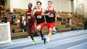 Track ends indoor season in second place