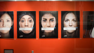 Gallery 360 installation promotes women's rights