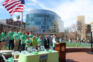 Students raise awareness of organ donation