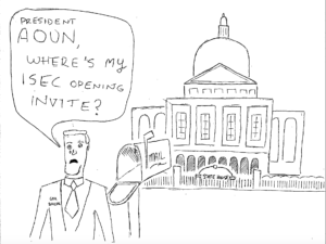 Cartoon: A governor excluded