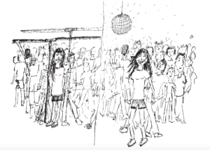 Cartoon: Crowds a bummer on the T, a boon in the club
