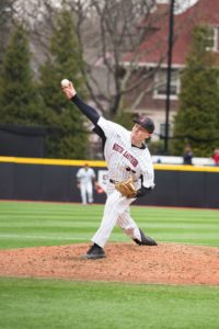 Baseball improves CAA record with pair of wins