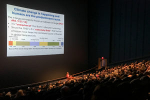 UMass professor lectures on climate change