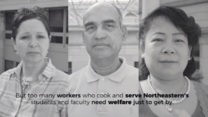 Local 26 calls out Northeastern in YouTube ad