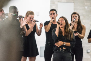 Northeastern a cappella groups fix their focus on group harmony