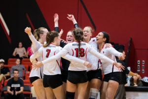 Volleyball Wins Two, Loses One in the New England Challenge