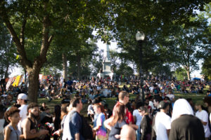 Freedom Rally goers celebrate marijuana