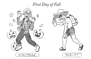 Cartoon: First Day of Fall