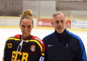 Women's hockey alum represents Huskies in German pros
