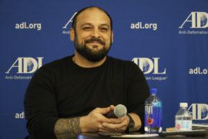 Former skinhead shares message against hate