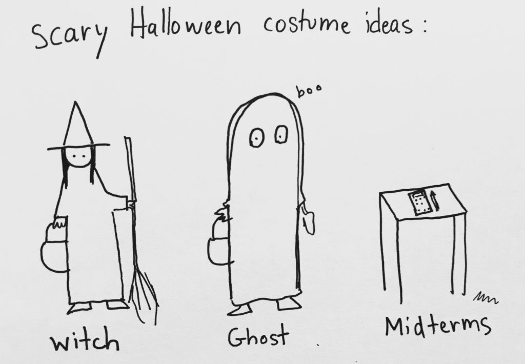 Cartoon: Scary Halloween costume ideas - The Huntington News