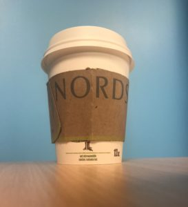 Shipping mistake leads to Nordstrom ads on coffee sleeves
