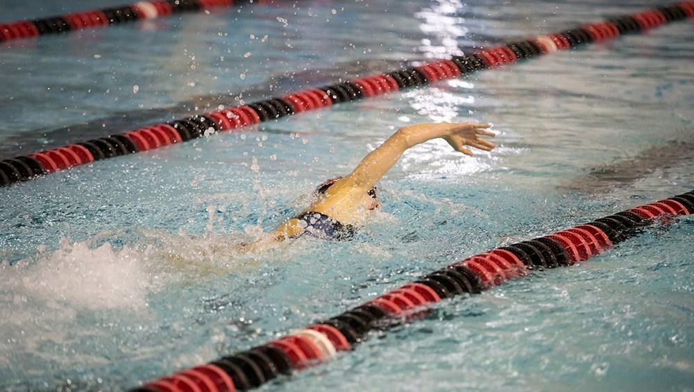 Swimming and diving prepares for season with intrasquad meet