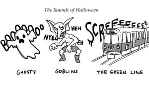 Cartoon: The sounds of Halloween