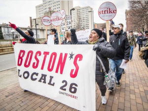 Dining workers vote to begin strike Wednesday