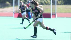 Record-setting field hockey squad falls in Columbus Day dogfight