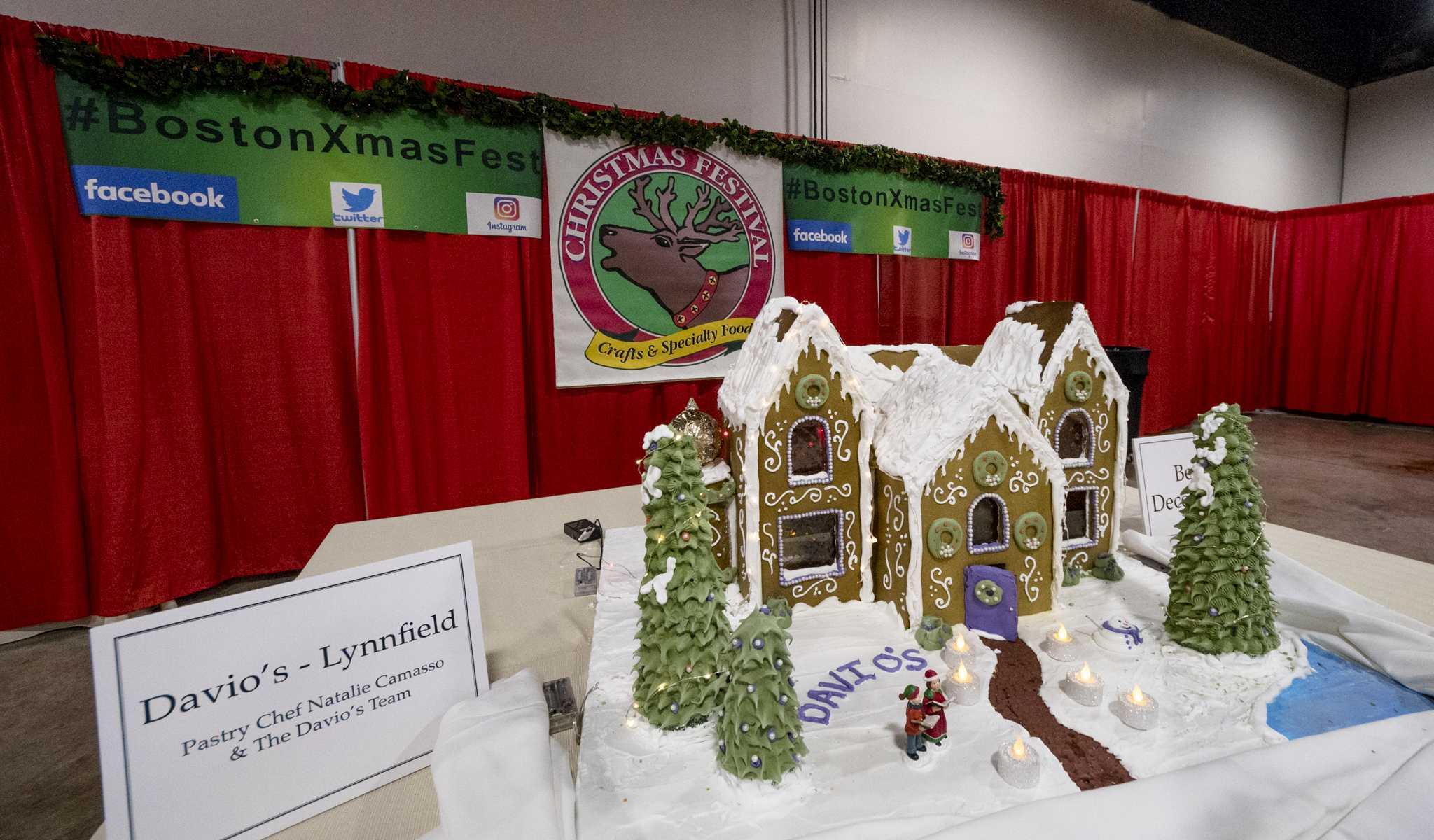 Boston Christmas Festival.Boston Kicks Off Holiday Season With Craft Festival The