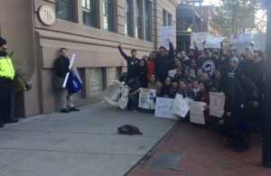 Graduate student workers rally for union recognition