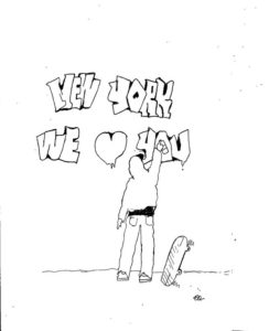 Cartoon: Our thoughts are with New York