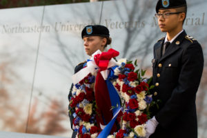 Northeastern renames veterans center, updates memorial