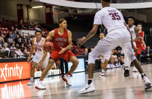 Gresham leads NU men's basketball to second straight win