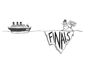Cartoon: Finals approach