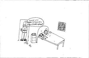 Cartoon: Vegan Christmas