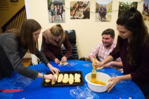 Students bake challah to raise funds for charity