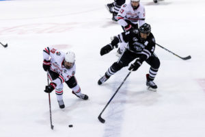 Northeastern battles back to tie Providence, ties BC atop Hockey East