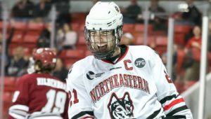 Northeastern takes weekend split with UMass