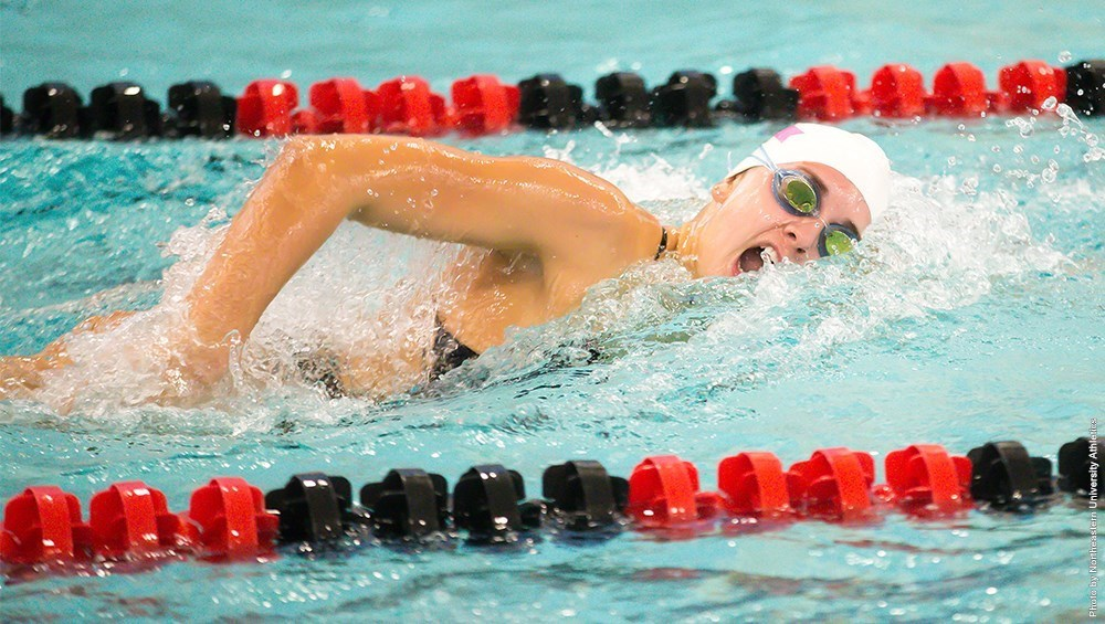 Swimming and Diving beats Vermont in return to competition