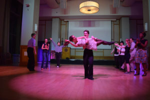 Ballroom Dance Club hosts speakeasy-themed swing dance