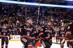 Northeastern shuts out BC in Beanpot semi, will try to end title drought