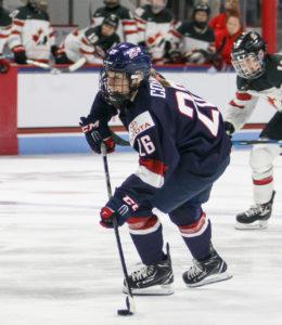 Kendall Coyne, an NU alumna, wins Olympic gold