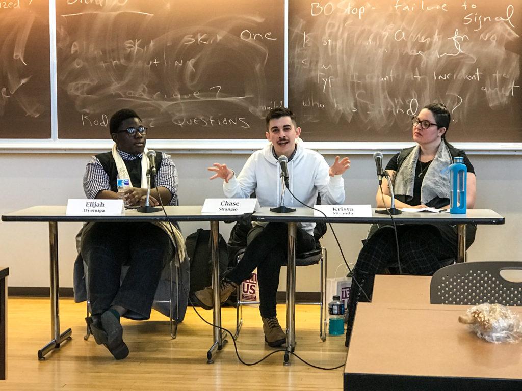 """Law school panel talks transgender rights, """"politics of the toilet"""""""