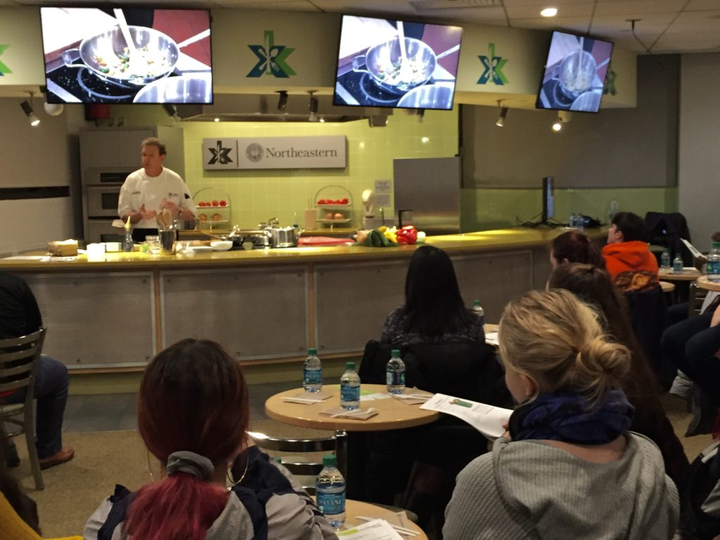 NU Thrive event helps students eat well on a college budget