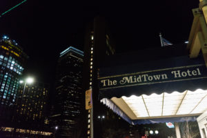 N.U.in students housed in Midtown Hotel