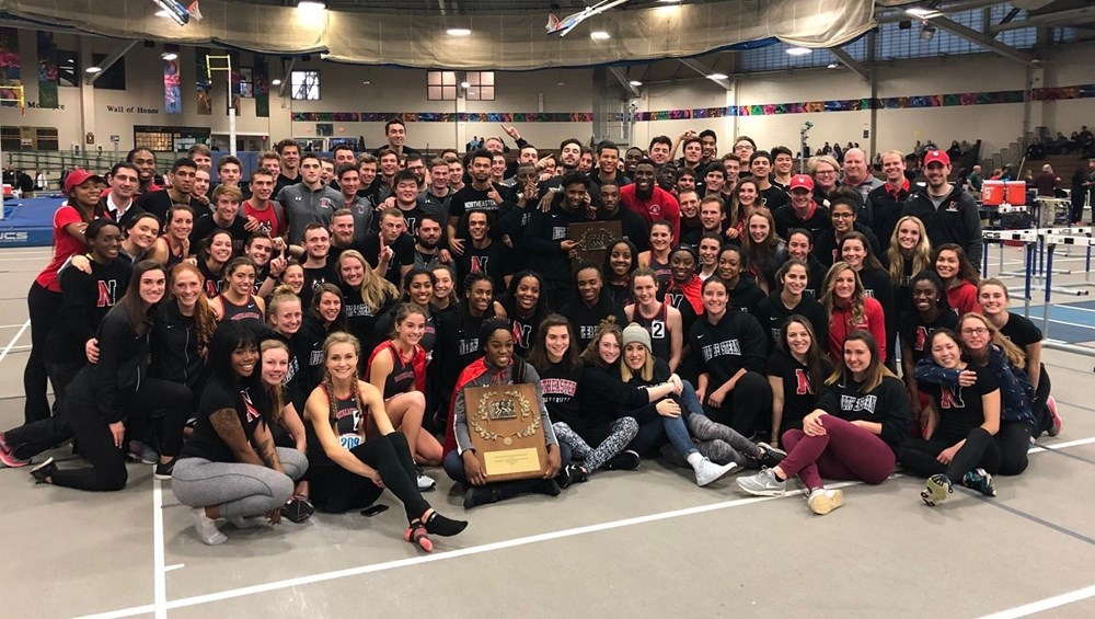 Huskies sweep New England Championships for second year in a row