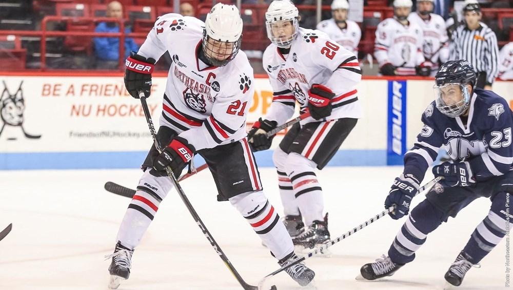 Men's hockey ties UNH, maintains second in Hockey East