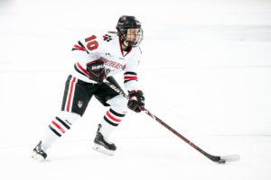 Women's hockey team shut out in regular season finale