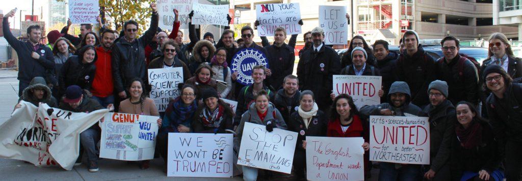 Op-ed: NU grad union is fighting back