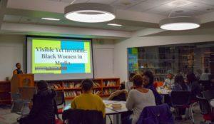 Students examine media portrayals of black women