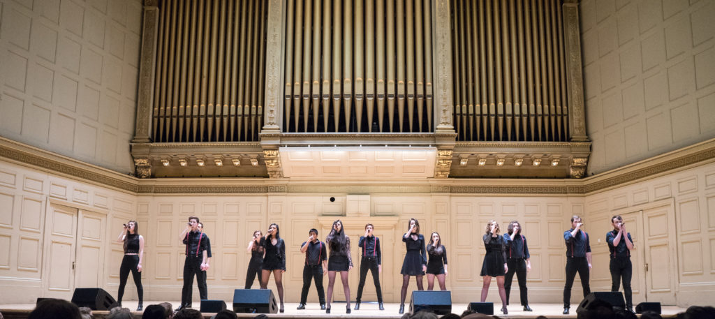 Distilled Harmony competes at ICCA Semifinals