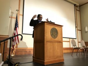 Black Panther founder speaks on campus about civil rights