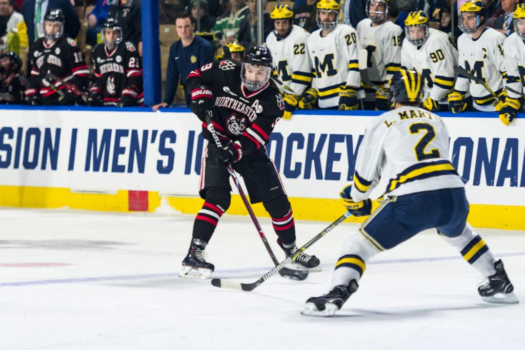 Huskies' season ends with loss to Michigan