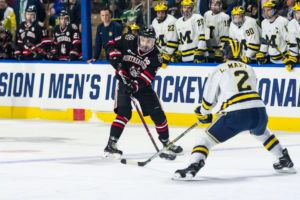 Huskies' season ends with loss to Michigan