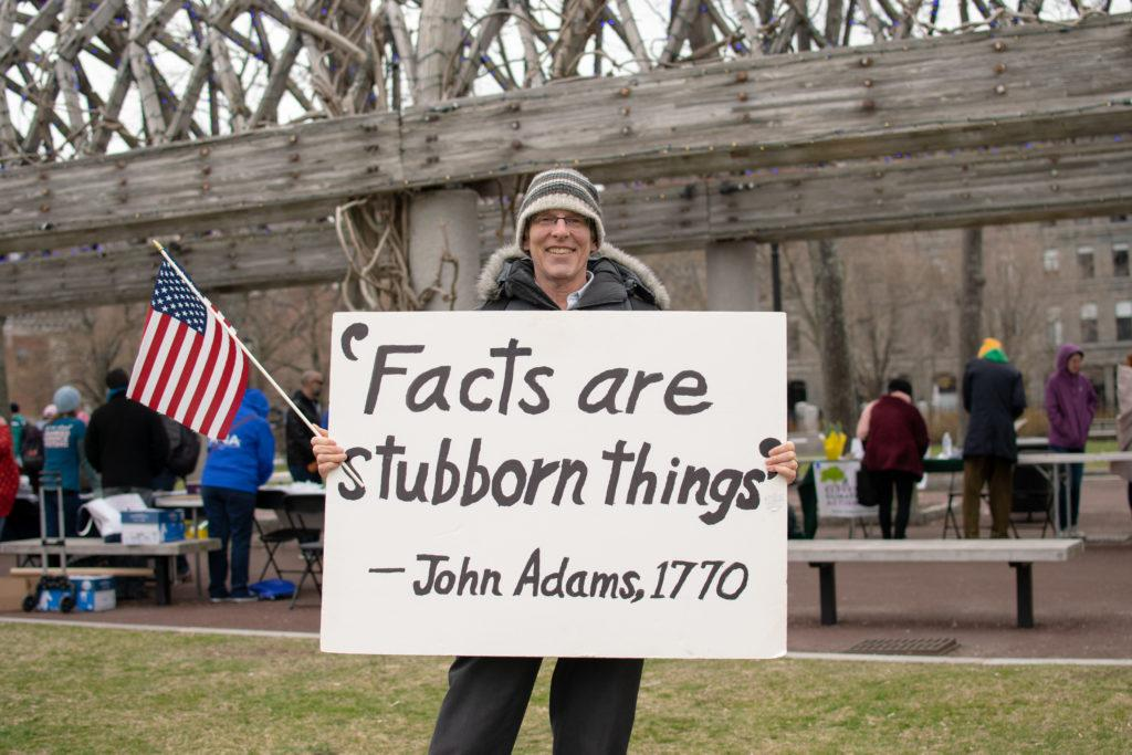 2018 March for Science smaller than 2017, localized