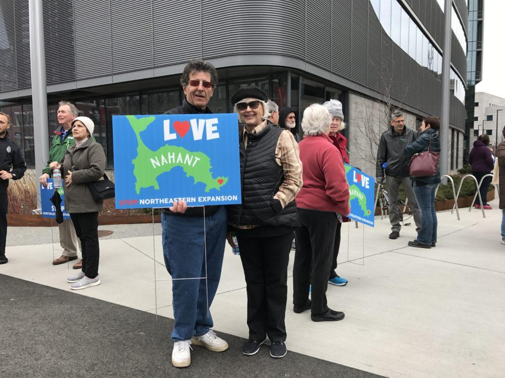 Nahant residents protest Marine Science Center expansion